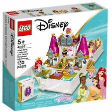 LEGO Disney Princess 43193 Ariel Belle Cinderella & Tiana's Storybook 130pcs