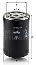 NEW Mann Oil Filter W940/25 5011838 770842 12574927 1257492 068115561B