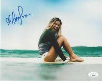 CoCo Ho Signed 8x10 Photo JSA COA Autograph Surfer #2