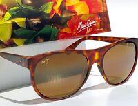 NEW* Maui Jim RISING SUN Tortoise POLARIZED HCL Bronze Womens Sunglass H731-10