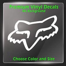 FOX Racing Decal - Vinyl FOX Racing Sticker - Motocross Decal MX Stickers Bike