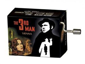 Mini Barrel Organ Music Box, the Third Man, Crank Mechanism