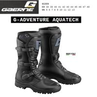 Stivali adventure touring moto GAERNE G-ADVENTURE AQUATECH black nero 2525001