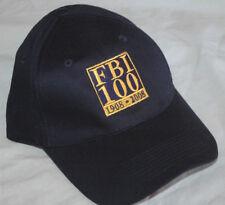 FBI 100 HAT Rare Baseball Cap U.S INTELLIGENCE Federal Bureau of Investigation