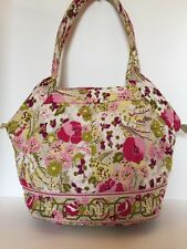 Vera Bradley  Make Me Blush  Shoulder Handbag Tote Medium