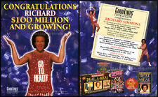 RICHARD SIMMONS__Original 1994 Trade Print AD video promo / poster__Deal-A-Meal