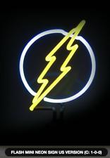 FLASH MINI NEON SIGN US VERSION (FACTORY SEALED, BRAND NEW) DC COMICS, RARE