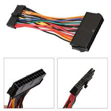 ATX PSU Standard 24Pin Female to Mini 24P Male Power Supply Cable Wire Connector