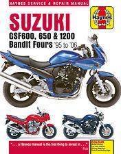 Suzuki Gsf600 650 & 1200 Bandit Fours Haynes Manual