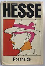 Hermann Hesse Rosshalde First Edition 1970 HCDJ