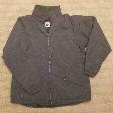 Columbia Womens XL Gray Fleece Lined Interior Pocket Jacket Coat