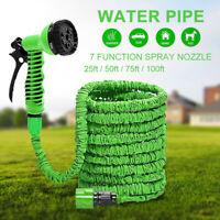 Extra Long Retractable Expandable Garden Hose Pipe & Spray~