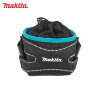 Makita Work Tool Belt Drawstring Screws Nails Fixings Pouch Holder Bag P-71956