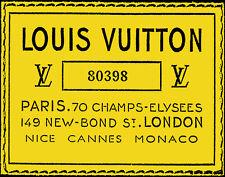 Haute Couture Vuitton #13 Pop Art Canvas 16 x 20  #3109