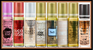 Heaven Scent  Roller Collection Pure Fragrance -12ml