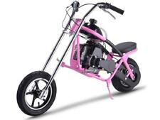 MotoTec 48.9cc Gas Mini Chopper Pink Air Cooled EPA Approved Rear Disc Brake NEW