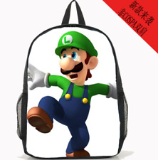 Super mario brothers luigi amazing shoulder bag backpack Leisure Backpacks bag