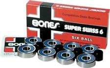 BONES Skateboard Bearings Super Swiss 6 Ball Post
