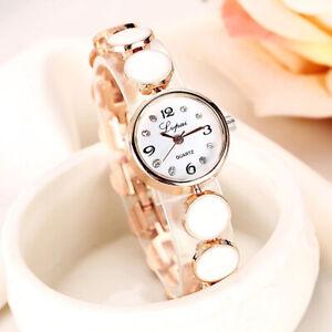 Ladies Bracelet Watches Womens Wrist Watch Quartz Analogue Casual Fashion Gift
