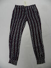 Roxy Woman Sun Hands Harem Multi-Color (KVJ4) Pants Sz Medium