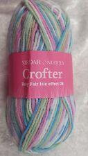 Todos los Colores 50g Lana Hilo Sirdar Snuggly Baby Crofter Dk F086