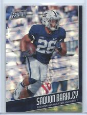2018 PANINI FATHER'S DAY RC FUTURE FRAMES PARALLEL SAQUON BARKLEY /50 GIANTS