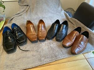 Men's Formal shoes Size 9.5 Oliver Sweeney, 2 Pairs Of Dune And Office (4 Pairs)