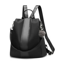 Women Backpack Purse Anti-Theft Rucksack Waterproof Nylon Lightweight School Bag