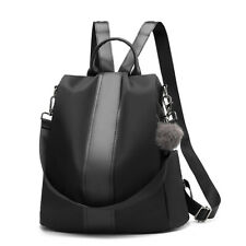 Women Backpack Purse Waterproof Nylon Anti-theft Rucksack Lightweight School Bag