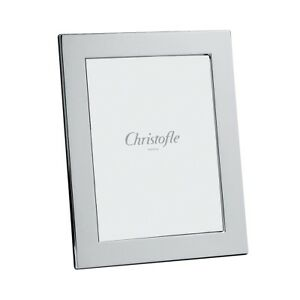 "CHRISTOFLE FIDELIO STERLING SILVER 5"" X 7"" PICTURE FRAME #5256008 BNIB CLEAR F/S"