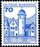 918 postfrisch BRD Bund Deutschland Briefmarke Jahrgang 1977