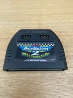 Micro Machines Turbo Tournament 2 - Sega Mega Drive Game Cart Only