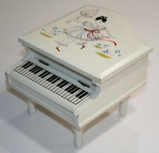 VINTAGE Piano Jewelry / Trinket Box
