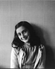 Anne Frank WWII Holocaust Victim Diary of 8x10 Photo J-34