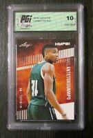 Giannis Antetokounmpo 2019 Leaf HYPE! #32 Rare Card PGI 10 Milwaukee Bucks