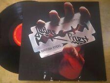 "JUDAS PRIEST ""British Steel"" LP Original 1980 Columbia US First Press nm/ ex"