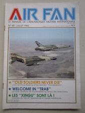 AIR FAN 45 USAF RESERVE F-105D EMBRAER XINGU MCDONNEL FH-1 PHANTOM TOUL ROSIERES