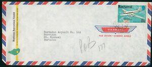 Mayfairstamps Montserrat Bostleman Internatl Ltd Barbados Asphalt Ltd Airplane C