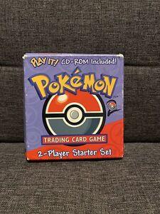 Pokemon 2 Player Starter Set Base Set 2 With Sealed CD