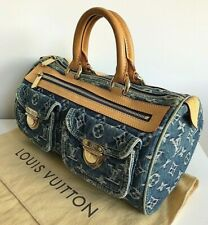 Authentic Louis Vuitton Blue Denim Neo Speedy bag RRP $2590 AUD!