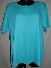 Tee-shirt BLEU-BONHEUR, Col 3 Boutons.  Taille 52  Neuf