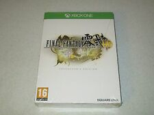 Final Fantasy Type-0 HD Collector's Edition Microsoft Xbox One Import Sealed