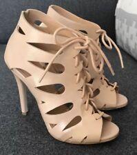 Patternless Regular Size Evening & Party Heels for Women