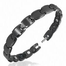 Bracelet homme céramique noire scorpion