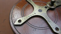 "4"" Nottingham Starback Reel stamped ""Dowker"""