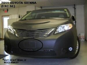 Lebra Front End Mask Cover Bra Fits 2011 2012 2013 2014 2015 TOYOTA SIENNA