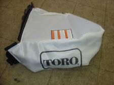 "Toro Lawnmower Grass Catcher Cloth Bag Recycler 22"" 107-3779 / 105-3011 New OEM!"