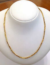 GRAZIOSO GIROCOLLO IN ORO GIALLO 18KT - 18KT SOLID YELLOW GOLD NECKLACE