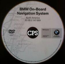 2009.1 Update High 2003 2004 2005 2006 BMW Z4 X3 X5 M3 Cooper Navigation DVD Map