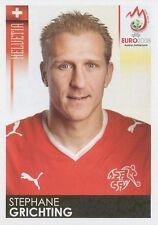 N°056 VIGNETTE PANINI GRICHTING SUISSE SWITZERLAND EURO 2008 STICKER